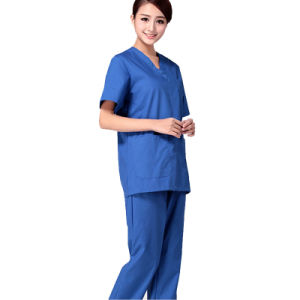 European Fashion Nurse Uniform/ Medical Scrubs Wholesale /Hospital Uniform pictures & photos