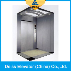 Hairline Stainless Steel Energy Saving Passenger Home Residential Villa Lift pictures & photos