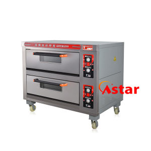 2 Deck 4 Trays Commercial Electric Oven Professional Baking Equipment pictures & photos