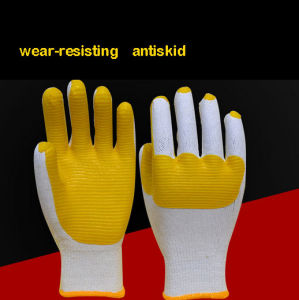 Cheap Wear-Resisting and Impact Resistant Hand Protection Safety Gloves pictures & photos