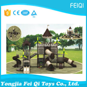 Most Popular Plastic Outdoor Playground Kids Made in China Castle Series (FQ-CL0241)