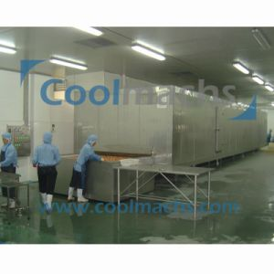 IQF Tunnel Quick Freezing Equipment for Fish Shrimp Dumplings pictures & photos