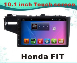 Android System GPS Navigation Car DVD for Honda Fit 10.1 Inch Capacitance Screen with Bluetooth/TV/WiFi/USB