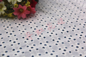 Cotton Embroidery Fabric ----Geometry Openwork