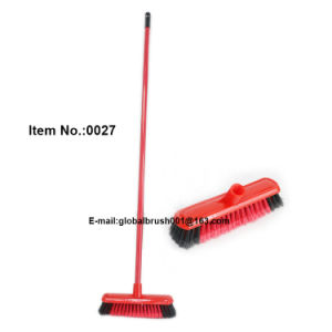 Painted Iron Handle Floor Clean Brush