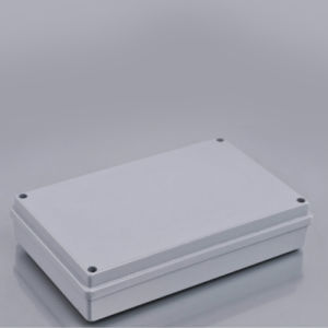 China Manufacturer Light Grey IP65 PC Plastic Waterproof Enclosures pictures & photos