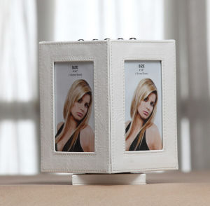 New Rotating Leather Desk Picture Frame pictures & photos