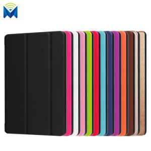 Anti-Scratch Tri-Fold Leather Stand Case Cover for Amazon Kindle HD8 2017