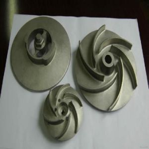 Stainless Steel Impeller Turbine Engine Pump Impeller (Machining Parts) pictures & photos