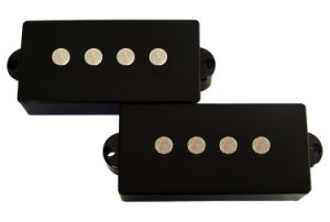 4 String Open Style AlNiCo 5 Flatwork P Bass Pickup pictures & photos