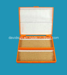 100PCS Microscope Slides Storage Box pictures & photos