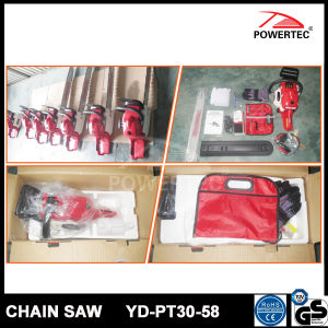 Powertec CE GS Easy Start 58cc Gasoline Chain Saw (YD-PT30-58) pictures & photos