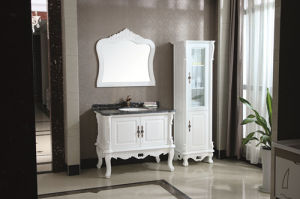 Modern Style Solid Wood Sanitary Ware Bathroom Furniture