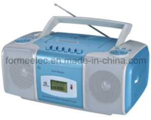 Portable DVD CD MP3 Boombox with Cassette Recorder Player DVD9214uc pictures & photos