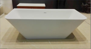 Sanitary Ware of Acrylic Solid Surface Bathtub pictures & photos