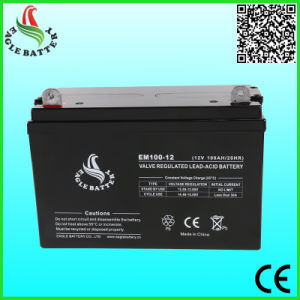 12V 100ah Mf Sealed Lead Acid Battery for Power Tools