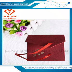 Cheaper Hot Sale Paper Bracelet Box with Ribbon