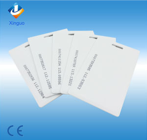 Blank  PVC/ABS Plastic RFID Card for Access Control System    pictures & photos