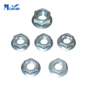 Carbon Steel Serrated DIN6923 Hex Flange Nuts