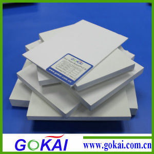 1220*2440mm 0.55density Celuka PVC Foam Board pictures & photos