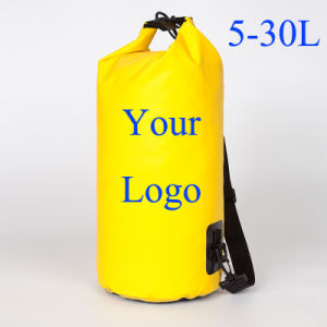 Customized Logo Adjusted Shoulder Strap Outdoor Sport Waterproof Backpack Dry Bag pictures & photos