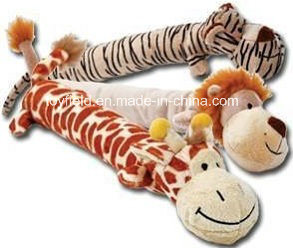 Plush Animal Rope Dog Squeaky Bite Chew Pet Toy pictures & photos