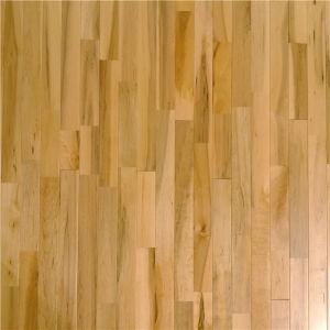 Anti Slip Natural Maple Hardwood Flooring For Basketball