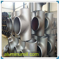 Aluminum B234 6061 T6 Flange Fitting Tee Equal pictures & photos