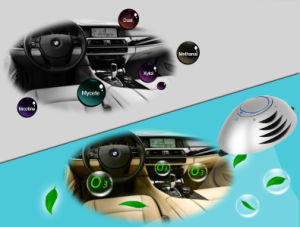 Mini Car Air Purifier with Ozone and Anion pictures & photos