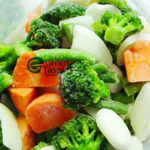 IQF Frozen California Mixed Vegetables