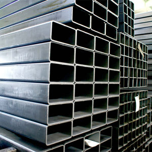 Q195 Galvanized ERW Steel Square Tube Manufacturer pictures & photos