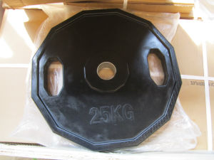 Color Bumper Weight Plate with SGS (USH-302) pictures & photos
