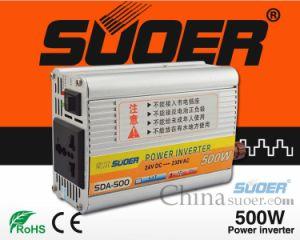 Suoer Solar Power System Inverter 500W 24V DC Inverter for Home Use (SDA-500B)