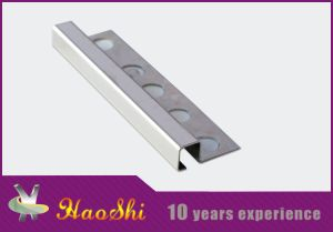 Square Closed Type Stainless Steel Edge Decorative Strips (HSSS-05)