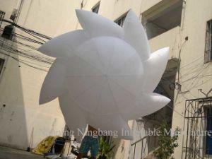 Sun Shape Inflatable Decoration with LED Light for Party