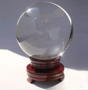 300mm 400mm 500mm 600mm Big Large Size Pure Clear Crystal Ball Sphere