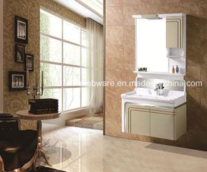 2016 Modern High Quality Bathroom Mirror Cabinet Vanity Ceramic Basin Under Of