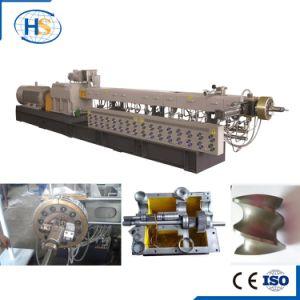 Tse-75 Parallel Co-Rotation Twin Screw Extruder Machine TPE/TPR/TPU Compound Pelletizing Line