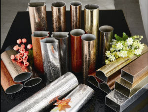 The Most Popular Colorful Pipes of Stainless Steel