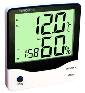 Indoor and out Door Digital Thermometer pictures & photos