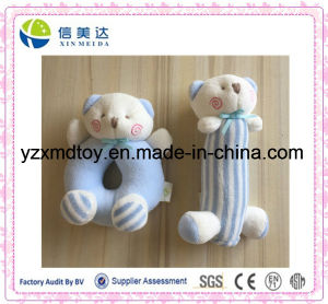 Plush Soft Cute Bear Baby Rattle pictures & photos