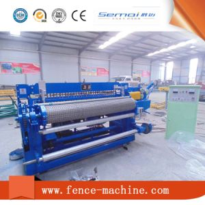 Hot DIP Galvanizing Steel Wire Mesh Welding Machine in Roll pictures & photos