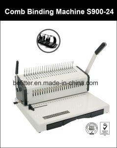 S900-24 F4 Size Base 24 Holes Comb Binding Machine pictures & photos