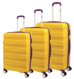 PP Unisex Trolley Case Set 3 in One pictures & photos