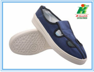 ESD Butterfly Working Shoes of Blue Colors pictures & photos