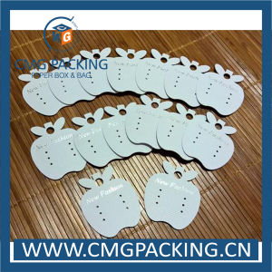 New Design Apple Shape Earring Display Card with Logo Printed pictures & photos