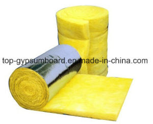 50mm Soundproof Fiber Glass Wool Blanket with Aluminum Foil pictures & photos