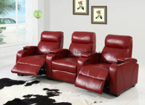 Wondrous China 3 Seater Red Leather Sofa Manuel Recliner Home Theater Home Interior And Landscaping Oversignezvosmurscom