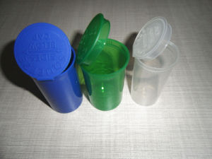 Custom Color Can Be Transparent or Opaque Small Vials pictures & photos