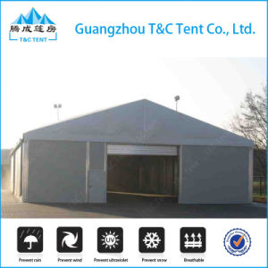 Aluminum Structure Solid Wall Outdoor Warehouse Tent Made by SGS